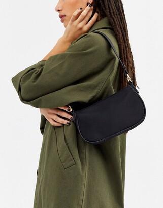 Asos Design DESIGN 90s shoulder bag in black