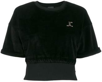 Just Cavalli cropped T-shirt