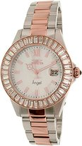 Invicta Women's 'Angel' Quartz Stainless Steel Casual Watch, Color:Two Tone (Model: 22325)