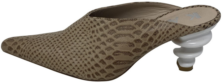 Thumbnail for your product : Kalda Brown Leather Sandals