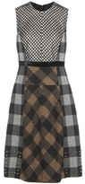 Etro Plaid wool dress