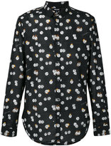 Just Cavalli dice print shirt