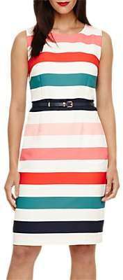 Phase Eight Faye Striped Dress, Multi