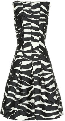 Oscar de la Renta Zebra dress
