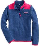 Vineyard Vines Girls' Fleece Shep Shirt