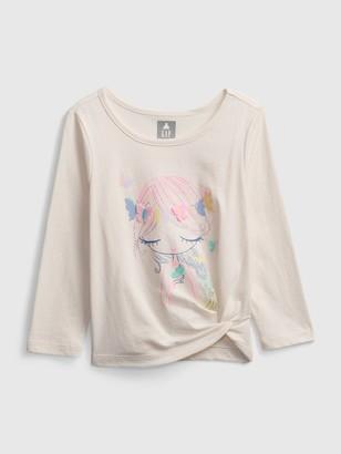 Gap Toddler Bea Graphic Twist T-Shirt