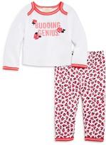 Kate Spade Girls' Budding Genius Tee & Leggings Set - Baby