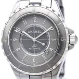 Chanel J12 H2934 Automatic Titanium Ceramic Mens Watch