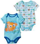 Disney Pixar Finding Nemo Baby Boy 2-pk. Graphic & Print Bodysuits