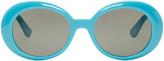 Saint Laurent Blue SL 98 California Sunglasses