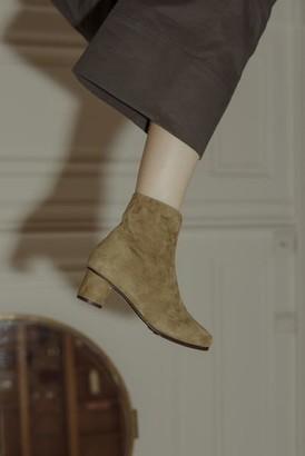 Anne Thomas - Jeanne Boots Suede Hevea Size 37 40 - 37