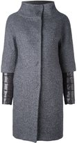 Herno double layered padded coat - women - Virgin Wool/Viscose/Polyamide/Polyester - 38