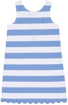 Polo Ralph Lauren Kids Striped cotton-blend dress