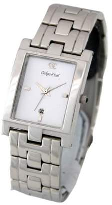 Gents Oskar Emil Classic Stainless Steel Dial Gent's Watch With Date