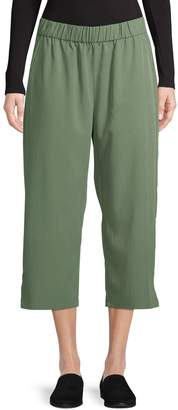 Eileen Fisher Slouchy Crop Pant