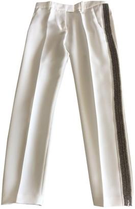 Barbara Bui White Trousers for Women