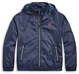 Ralph Lauren Polo Boys' Packable Water Resistant Jacket - Big Kid