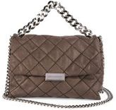 Stella McCartney Becks Small Quilted Faux-Leather Shoulder Bag