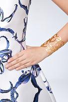 Herve Van Der Straeten Hammered Gold-Plated Cuff Bracelet