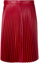 RED Valentino pleated skirt - women - Calf Leather - 38