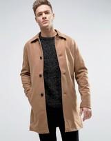 Jack and Jones Originals Wool Overcoat