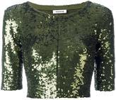 P.A.R.O.S.H. cropped jacket - women - Polyamide/Spandex/Elastane/PVC - S