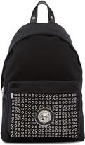 Versus Black Eyelet Backpack