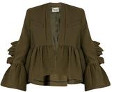 Rachel Comey Frida ruffled cotton-blend jacket