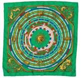Hermes Astrologie Silk Pocket Square