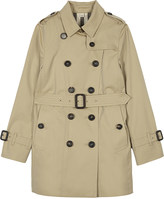 Burberry Sandringham cotton trench coat 4-14 years