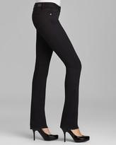 Paige Denim Jeans - Skyline Straight Petite in Black Ink