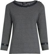 A.P.C. Cobob striped cotton-jersey T-shirt