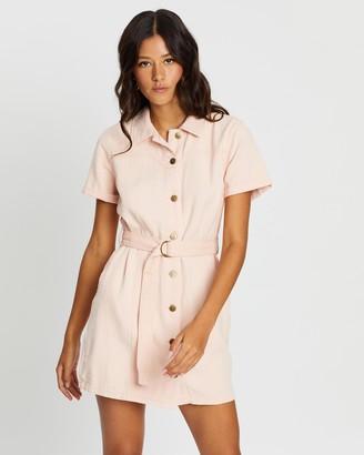 MinkPink Andie Shirt Dress