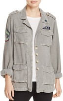 Sundry Patches Army Jacket