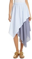 Opening Ceremony Women's Cody Stripe Asymmetrical Skirt