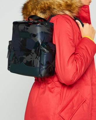 Hunter Disney Print Mini Backpack - Rubberised Leather