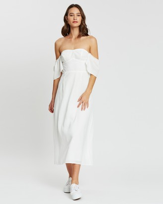 Atmos & Here Simone Off-Shoulder Dress