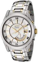 Seiko Men's SRN004 Premier Kinetic Dial Two-Tone Stainless Steel Watch