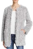Aqua Teddy Bear Faux Fur Coat - 100% Exclusive