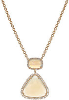 Irene Neuwirth Women's Geometric Pendant Necklace-CREAM