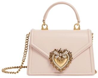 Dolce & Gabbana Small Leather Devotion Shoulder Bag
