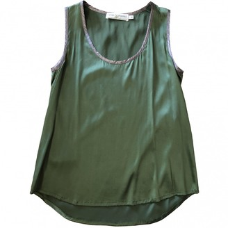 Koshka Mashka Green Silk Top for Women