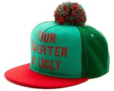 Bioworld Ugly Sweater Pompom Baseball Cap