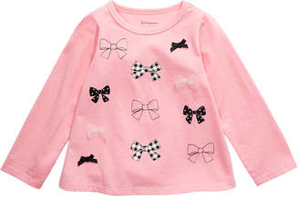 First Impressions Toddler Girls Bows T-Shirt