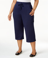 Karen Scott Plus Size Capri Sweatpants, Only at Macy's