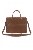AUGUST Handbags - The Leman - Chestnut