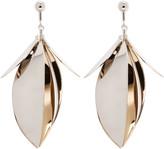 Proenza Schouler Gold & Silver Leaf Earrings