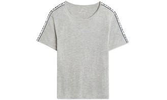 Tory Burch Banner Performance Tissue-Jersey T-Shirt