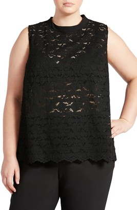Pari Passu Lace Open Back Shell