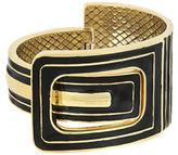 Laundry by Shelli Segal Inlaid Hinge Bangle Bracelet